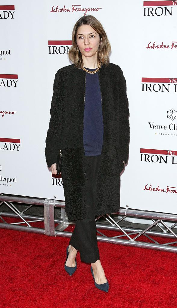The Iron Lady NY Premiere 2011 Sofia Coppola