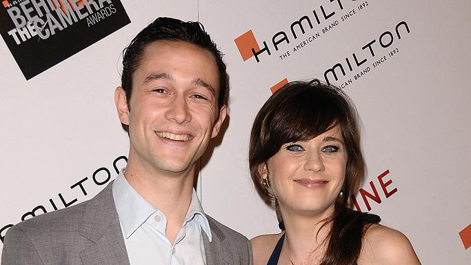 Hamilton Behind the Camera Awards 2009 Joseph Gordon Levitt Zooey Deschanel