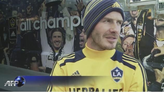 Beckham says done with LA Galaxy but not done with football