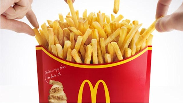McDonald's 'Mega Potato' French Fries