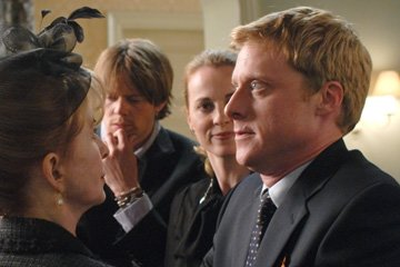 Kris Marshall , Daisy Donovan and Alan Tudyk in MGM's Death at a Funeral
