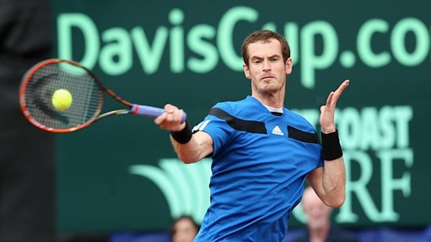 Andy Murray v Donald Young - Davis Cup, 2014