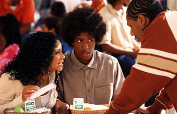 Christina Milian , Nick Cannon and Al Thompson in Warner Bros. Love Don't Cost a Thing