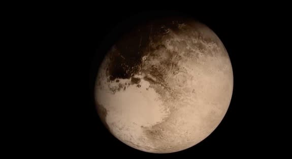 Ride Along on New Horizons Probe's Epic Pluto Flyby (Video)