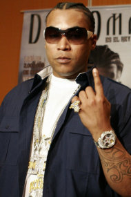 Reggaeton artist Don Omar