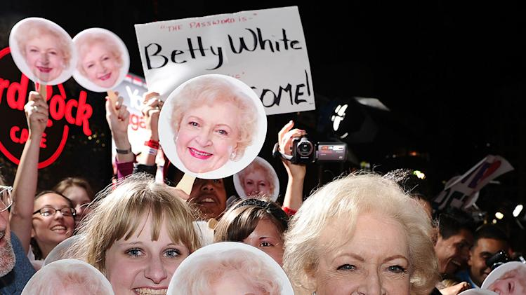 You Again LA Premiere 2010 Betty White