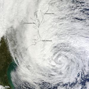 Why Is Hurricane Sandy So Big?