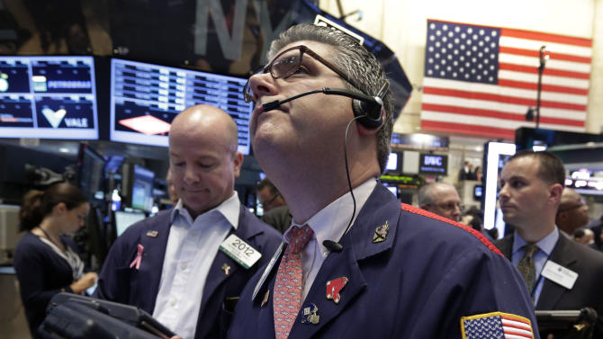 Stocks gain after encouraging US hiring news