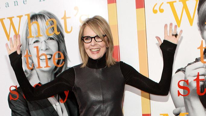 Morning Glory NY premiere 2010 Diane Keaton