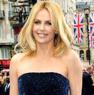 "Charlize Theron Opens Up About ""Scary"" Blind Date for Charity"