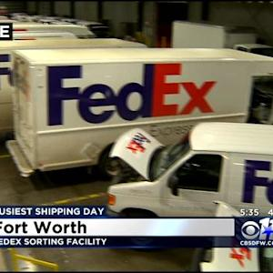 FedEx Facing Record Shipping Day