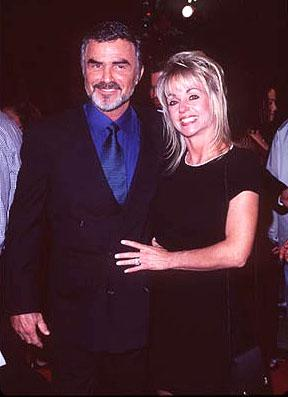 Burt Reynolds and Pam Seals at the Hollywood premiere of New Line's Boogie Nights
