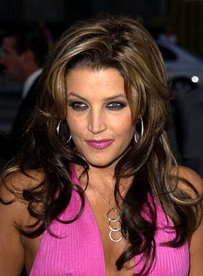 Lisa Marie Presley at the Beverly Hills premiere of Universal's Captain Corelli's Mandolin
