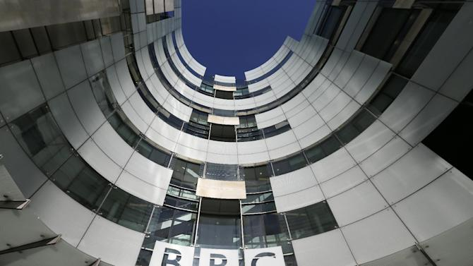 A general view of the BBC headquarters in London, Sunday, Nov, 11, 2012. The head of the BBC's governing body said Sunday the broadcaster needs a radical overhaul following the resignation of its chief executive in wake of a scandal over a botched report on child sex-abuse allegations. Chris Patten vowed to restore confidence and trust in the BBC, which is reeling from the resignation of George Entwistle and the scandals prompting his ouster. Entwistle resigned Saturday night amid a storm of controversy after a news program wrongly implicated a British politician in a child sex-abuse scandal, deepening a crisis sparked by revelations it decided not to air similar allegations against one of its own stars.(AP Photo/Alastair Grant)