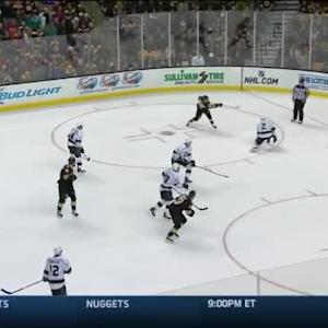 Jonathan Quick Save on David Pastrnak (11:24/3rd)