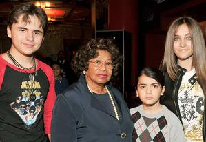 Prince Michael Jackson, Katherine Jackson, Blanket Jackson and Paris Jackson | Photo Credits: Lester Cohen/WireImage