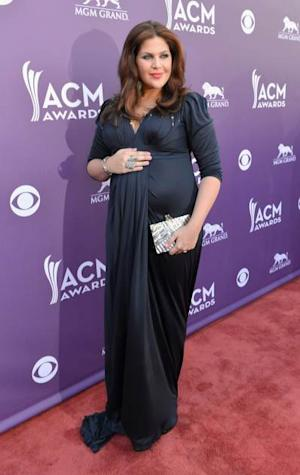 Hillary Scott pregnant ACM 2013 -- Getty Images