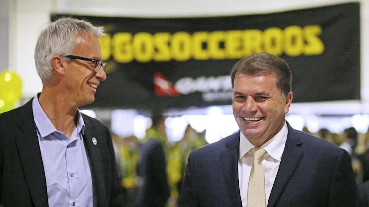 Australia coach looking for positive play at WCup
