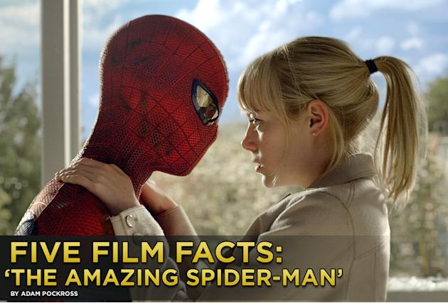 Five Film Facts the amazing Spider man