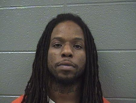 Booking photo of Corey Morgan, charged with first-degree murder in the gang-related shooting of 9-year-old Tyshawn Lee