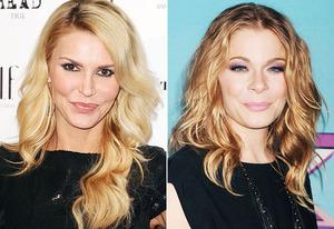 Brandi Glanville, LeAnn Rimes | Photo Credits: Jason LaVeris/FilmMagic, Jeffrey Mayer/WireImage
