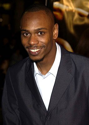 Premiere: Dave Chappelle at the Hollywood premiere of Ali - 12/12/2001