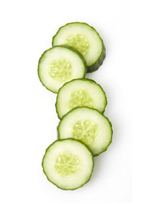 Eat a cucumber. It's good for your hair.