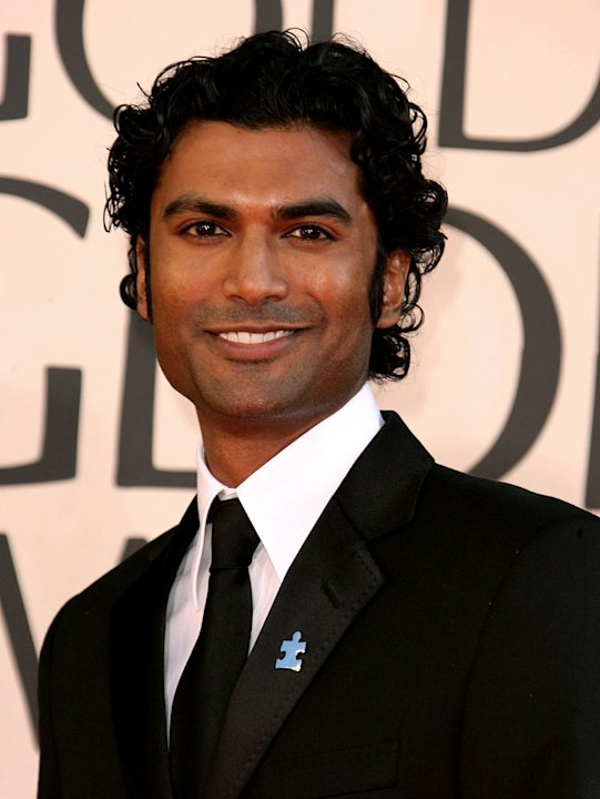 Sendhil Ramamurthy at the 64th annual Golden Globe Awards.
