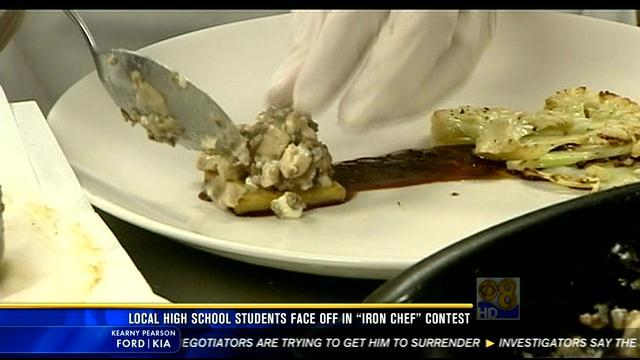 "Local culinary students face off in ""Iron Chef"" contest"