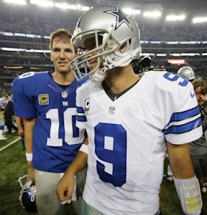 Romo playing through rib problem again for Cowboys