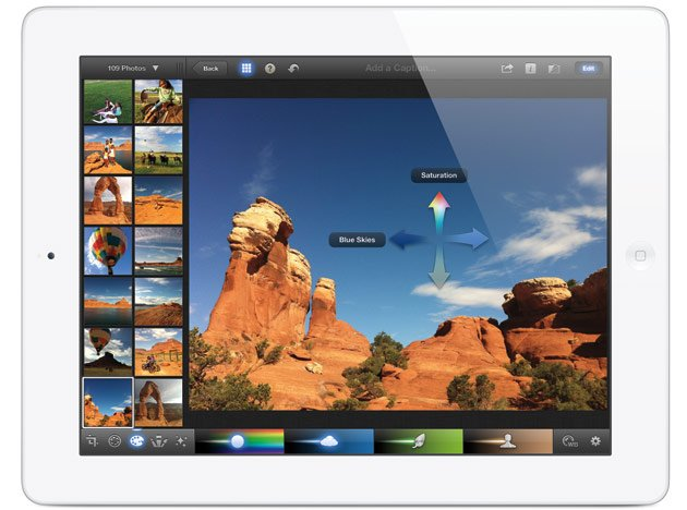 Apple launches iPad3