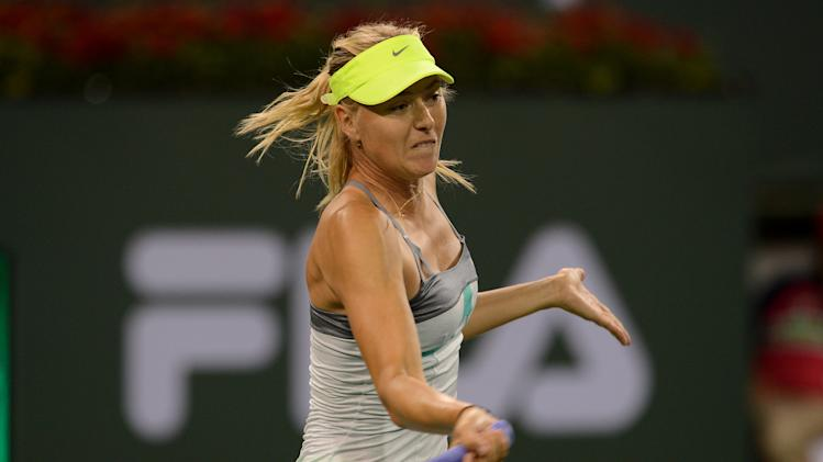 Tennis: BNP Paribas Open-Kirilenko vs Sharapova