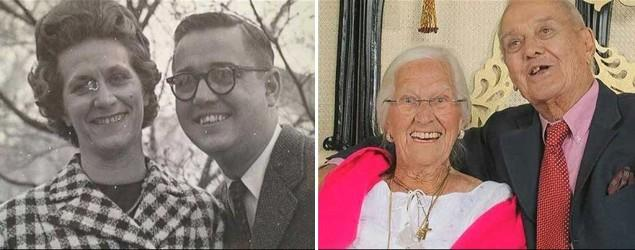 Couple married nearly 75 years die a day apart