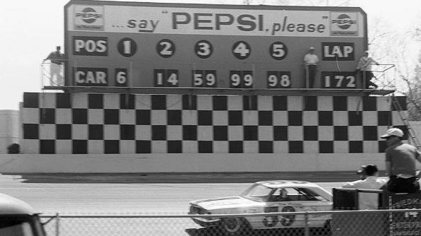 Retro Racing: A way to keep score at Martinsville
