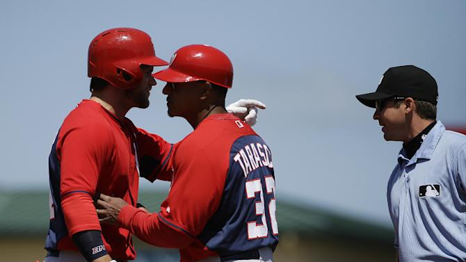 Harper ejected in Nationals' loss to Cardinals