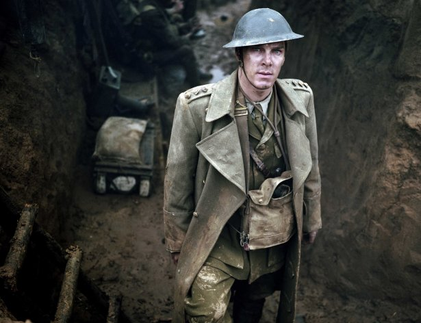 This publicity image released by HBO shows Benedict Cumberbatch is shown in the five-part miniseries &quot;Parade&#39;s End,&quot; debuting Feb. 26 on HBO. (AP Photo/HBO, Nick Briggs)