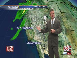 Tuesday 5 pm Weather Update