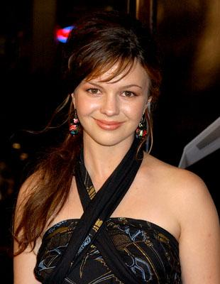 Amber Tamblyn at the LA premiere of New Line Cinema's Snakes on a Plane
