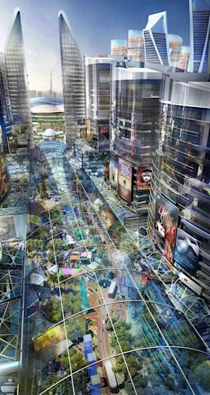 """An artist's impression of the """"Mall of the…"""