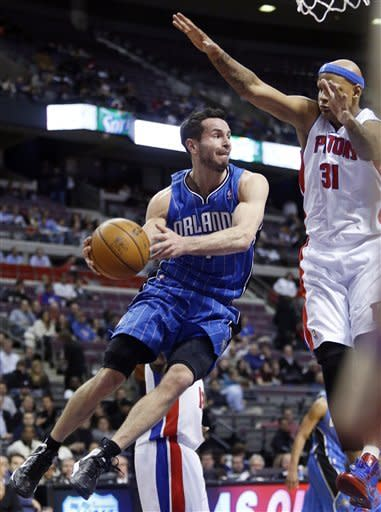 Pistons outmuscle Magic in 105-90 win
