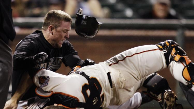 MLB's new home-plate collision rule put to use, but still seems…
