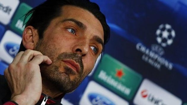 Gigi Buffon - Juventus - Champions League 2012/2013 (Reuters)