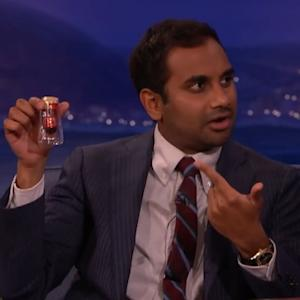 Aubrey Plaza Gifted 'Parks & Rec' Co-star Aziz Ansari with Blood and Hair (Sorta)