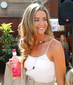 Denise Richards Hydrates at Memorial Day Party