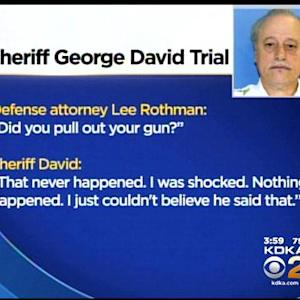Beaver Co. Sheriff Takes Stand In His Own Defense