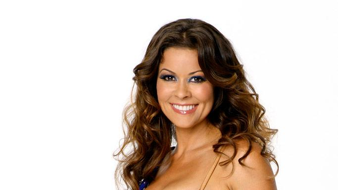 Host, actress, entrepreneur and celebrity mom Brooke Burke partners with professional dancer Derek Hough for Season 7 of Dancing with the Stars.
