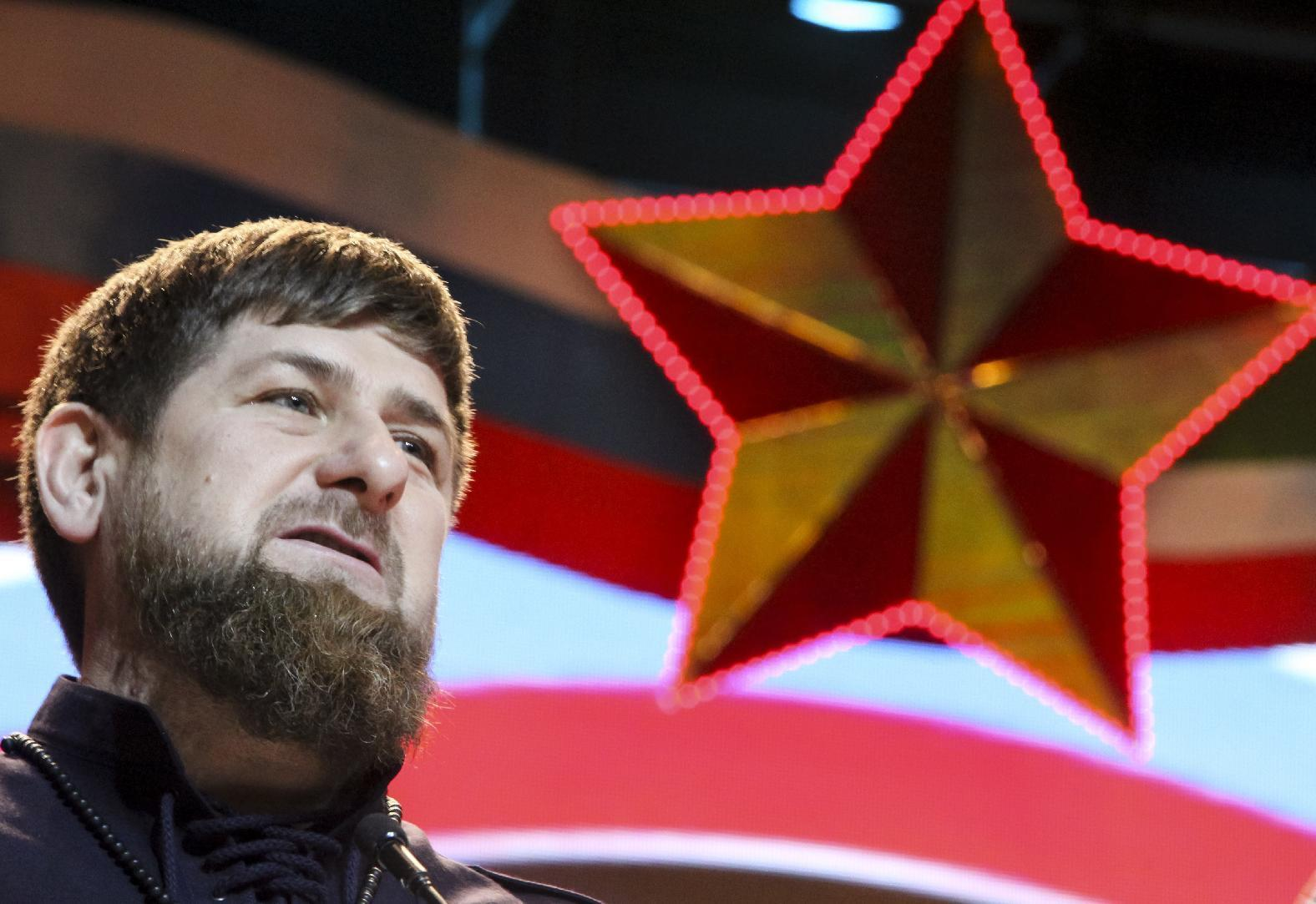 Chechnya's leader says troops would fight happily in Syria