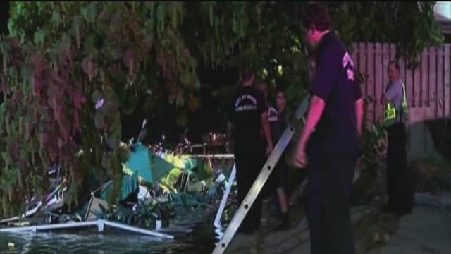 Miami bar deck collapses, 24 injured