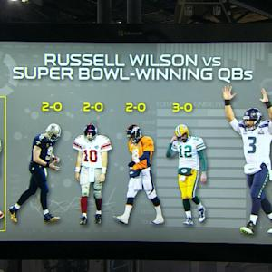 Mind-blowing stats: Wilson's remarkable record