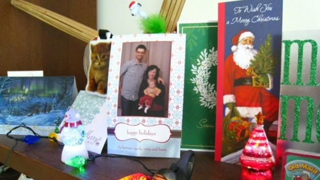 If your mantel isn't full of cards this holiday season, don't worry, you probably still know what's going on in your friends' lives.